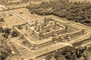 Angkor Wat from the sky