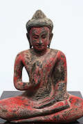 32.Sitting Buddha - Wood lacquer - Height: 43cm - USD320 -